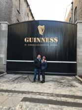 the Famed Guinness Gate at St. James