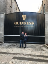 the Famed Guinness Gate at St. James